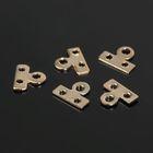 Разделитель 2 отверстия (набор 40шт) СМ-321, цвет золото