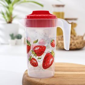1.2 L jug with lid, MIX