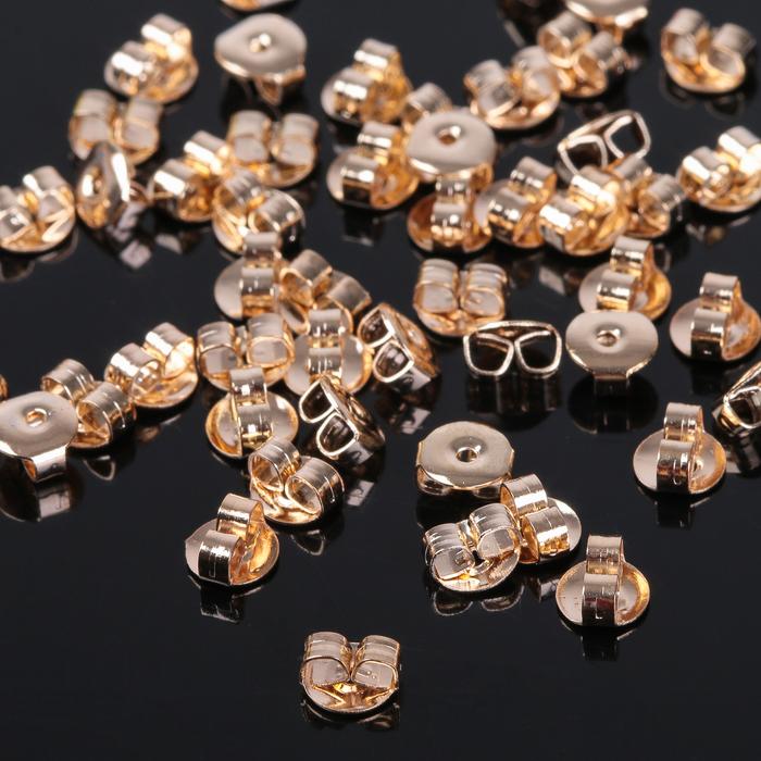 Заглушки для пусет 4,5мм (набор 50шт) СМ-905-2, цвет золото