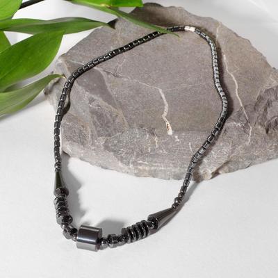 "Necklace ""Hematite"" Cleopatra, 40 cm"