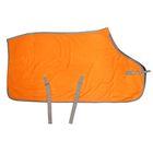 Попона флис /напузные ремни/ 140 см, оранж