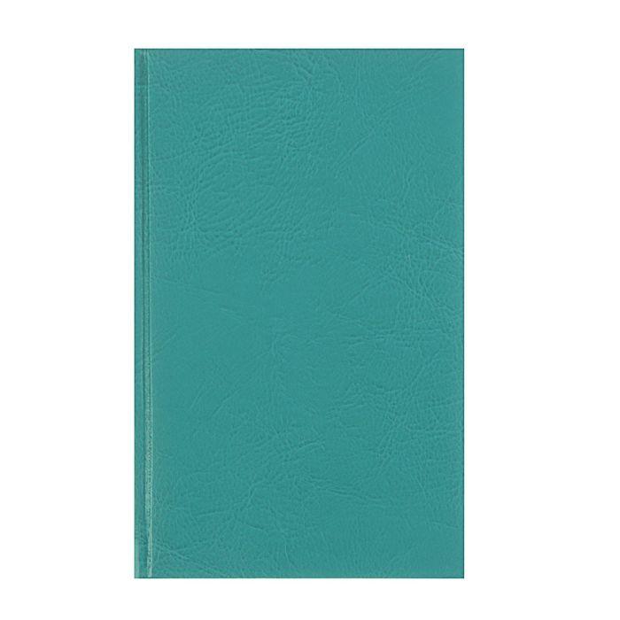 Ежедневник недатированный А5, 160 листов Cervo Aguamarine, кожзам, ляссе