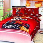 Постельное бельё FORMULA RED 1,5 сп., размер 180x240, 160x220, 50х70-2 шт., сатин 120 г/м²