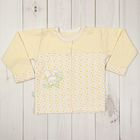 Кофточка детская, рост 62 см, цвет жёлтый 856_М