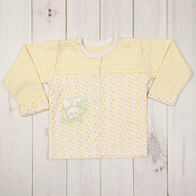 Кофточка детская,  рост 68 см, цвет жёлтый 856_М