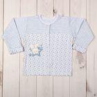 Кофточка детская, рост 68 см, цвет голубой 856_М