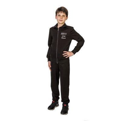 Костюм спортивный для мальчика, рост 122 см (64), цвет чёрный 33-КД-28Ш