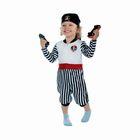 "Карнавальный костюм ""Пират"", велюр, комбинезон, бандана, 1-2,5 года, рост 92 см"