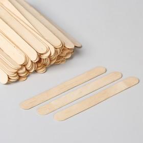 Шпатель для депиляции, деревянный, 14 × 1,5 см Ош