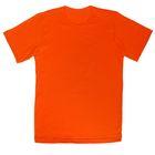 Футболка для мальчика, рост 134 см, цвет оранжевый 0611/1