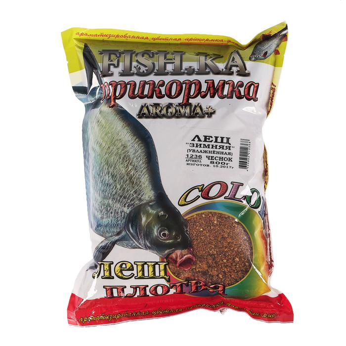 Приманка с чесноком для рыбы