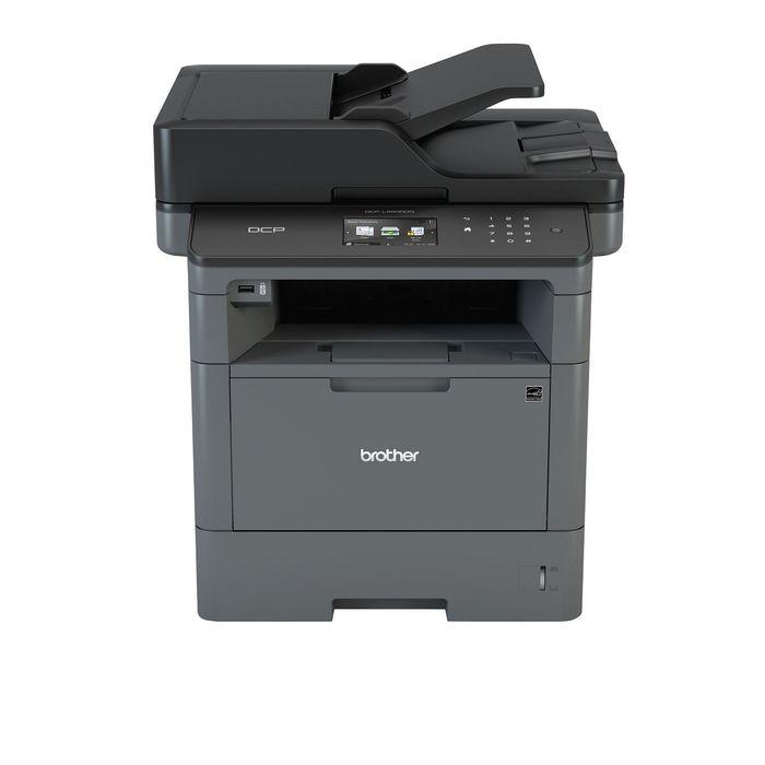 МФУ, лазерная черно-белая печать Brother MFC-L5700DN, А4, Duplex, LAN