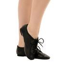 """Джазовки """"Спорт"""", из натуральной кожи, длина по стельке 20,5 см, цвет чёрный - фото 1672400"""