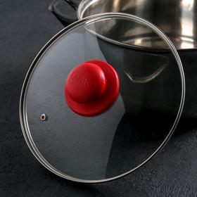 {{photo.Alt || photo.Description || 'Крышка для сковороды и кастрюли стеклянная, d=22 см, ручка МИКС'}}