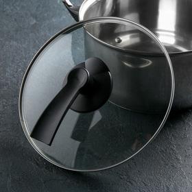{{photo.Alt || photo.Description || 'Крышка для сковороды и кастрюли стеклянная, d=24 см, с пластиковой ручкой'}}