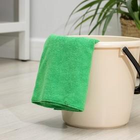Салфетка из микрофибры 70×80 см, 220 г/м2, цвет МИКС - фото 4648365