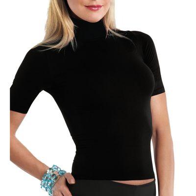 Футболка IN-T-Shirt dolcevita m/m Charlotte nero 2 -S/M