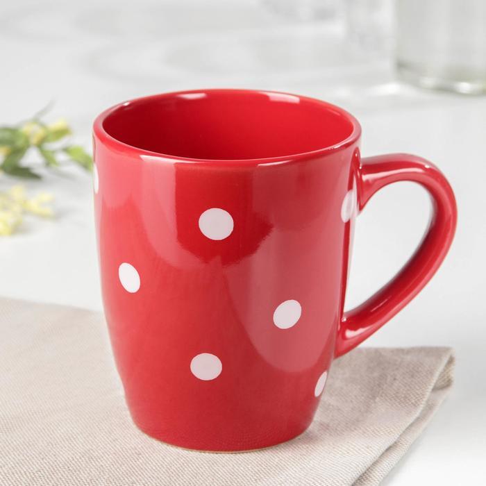 """Mug """"Red peas"""" 360 ml"""