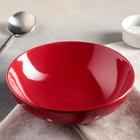 """Тарелка суповая 18,7 см """"Красный горох"""", 800 мл"""