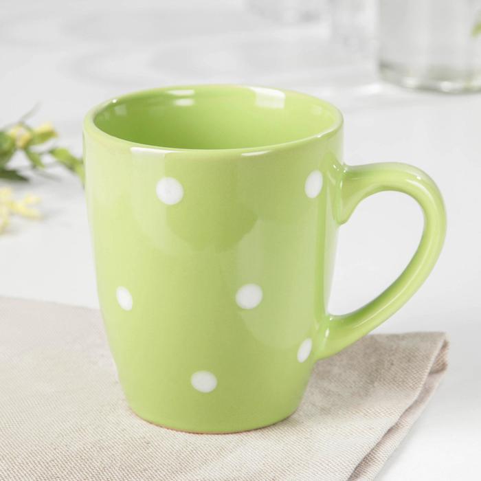 "Mug 360 ml of ""Green peas"""