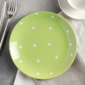 {{photo.Alt    photo.Description    'Тарелка десертная Доляна «Зелёный горох», d=19 см'}}