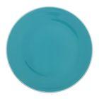"""Тарелка обеденная 27 см """"Дымка"""", цвет голубой"""