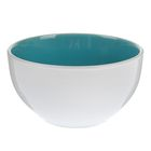 "Миска 500 мл ""Дымка"", 13,8х7,5 см, цвет голубой"