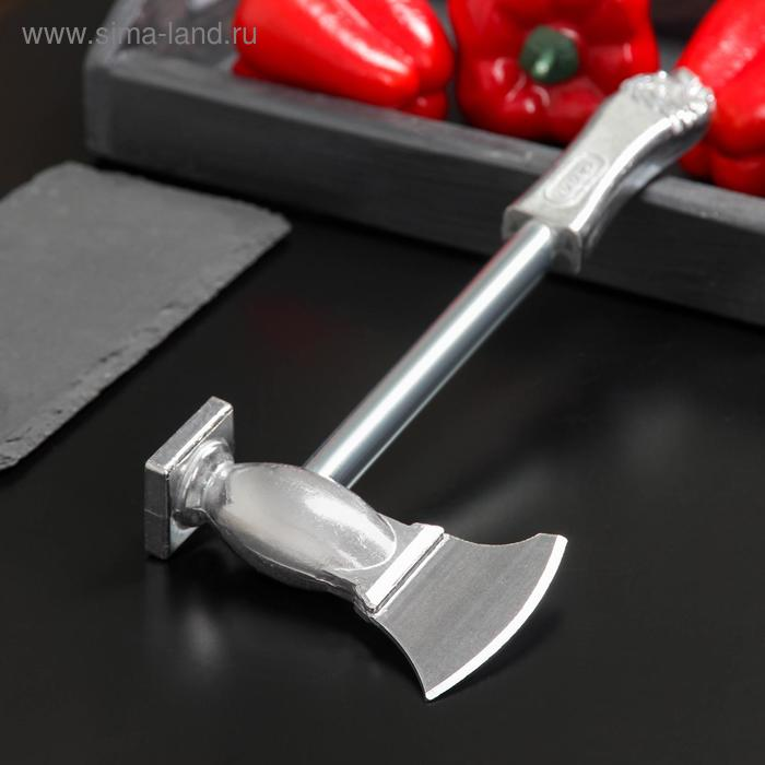 Meat hammer with ax, 28 cm