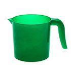"Ковш 1 л ""Изумруд"", цвет зелёный"