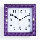 Wall clock, series: Interior zemlyanichka, frame mix, 22x22 cm