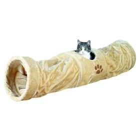 Тоннель Trixie для кошки, плюш, 125 см, ø 25 см, беж. Ош