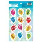 "Stickers-assessment ""balloons"", 10 x 18 cm"