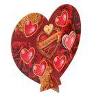 """Сердце сувенирное с окошечками """" Задания для двоих """", 18 х 16 см"""