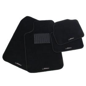 Universal floor mats ACM-CM-05, black, set of 4 pcs.