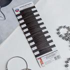Невидимки для волос чёрные (набор 100 шт.) - фото 7469548