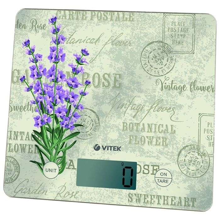 Весы кухонные Vitek VT-8020, электронные, до 10 кг