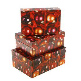 """Набор коробок 3 в 1 """"Красные шары"""" в Донецке"""