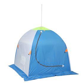 Палатка 'Медведь' 1 местная, 4 луча, оксфорд 210 верх брезент Ош