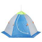 Палатка «Медведь» 1 местная, 6 лучей, оксфорд 210, верх брезент