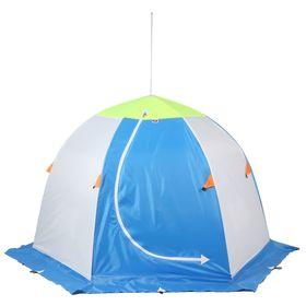 Палатка 'Медведь' 2 местная, 6 лучей 3-х слойная термостёжка Ош