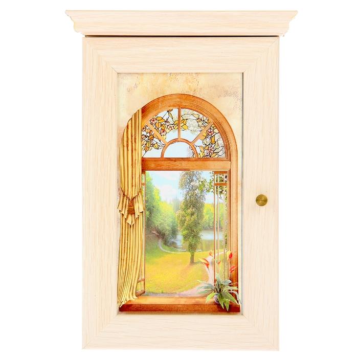 "Ключница ""Окно в сад"""