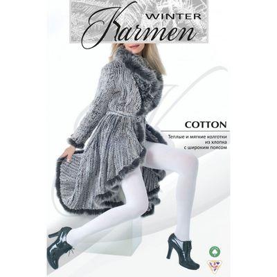 Колготки тёплые K-Cotton nero 4