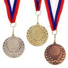 Медаль под нанесение 057 серебро