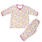 Пижама женская (джемпер, бриджи), цвет МИКС, размер 48