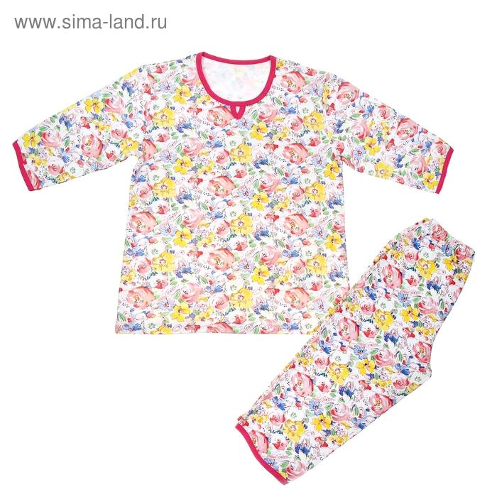 Пижама женская 221ф1632 МИКС, р-р 52