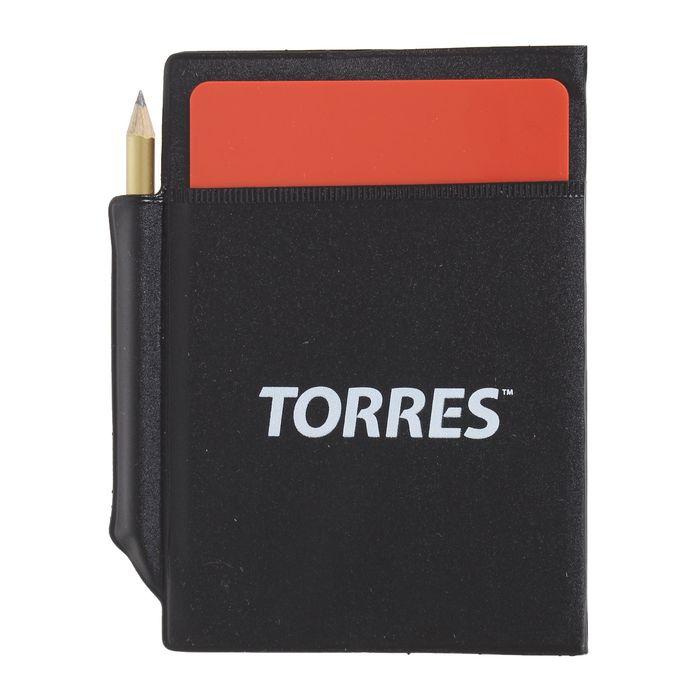 Бумажник судейский футбольный TORRES