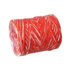 Рафия двухцветная, бело-красный, 200 м