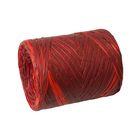 Рафия двухцветная, красно-бордовый, 200 м