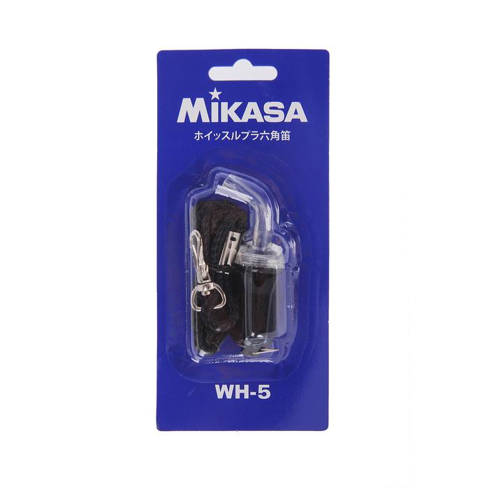 Свисток без шарика Mikasa WH-5B, цвет чёрный