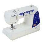 Швейная машина электромеханическая Leader VS 375, челнок вертикальный, 22 операций, пластик   176009